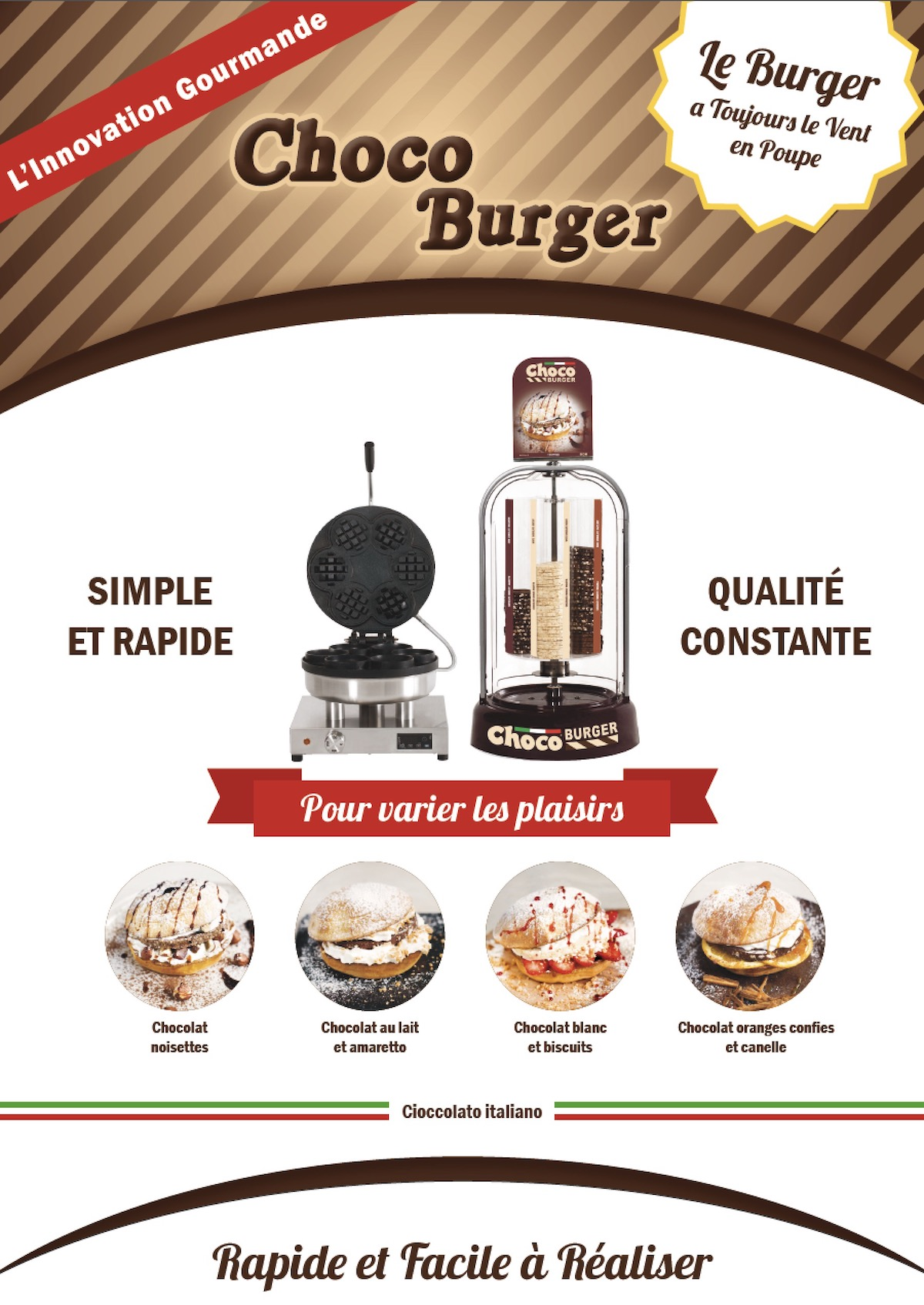 Chocoburger le concept